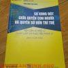 Sách Sự Xung Đột Giữa Quyền Con Người Và Quyền Sở Hữu Trí Tuệ