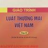 Giáo trình luật thương mại Việt Nam tập 2 đại học luật Hà Nội